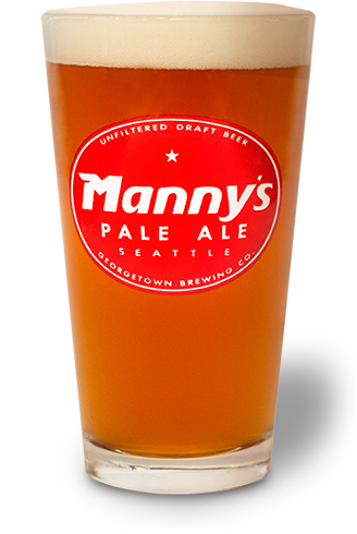 Manny's in a Glass. Tasty.