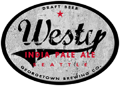 Westy IPA tap label