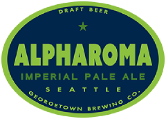 Alpharoma Imperial Pale Ale tap label