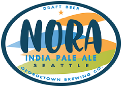 Noral IPA tap label