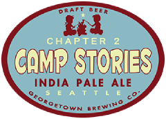 camp stories chapter 2 ipa tap label