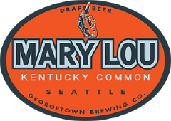 Mary Lou Kentucky Common tap label