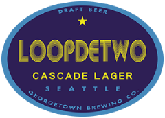 Loopdetwo lager tap label
