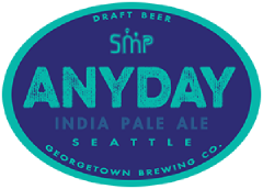 Anyday IPA tap label