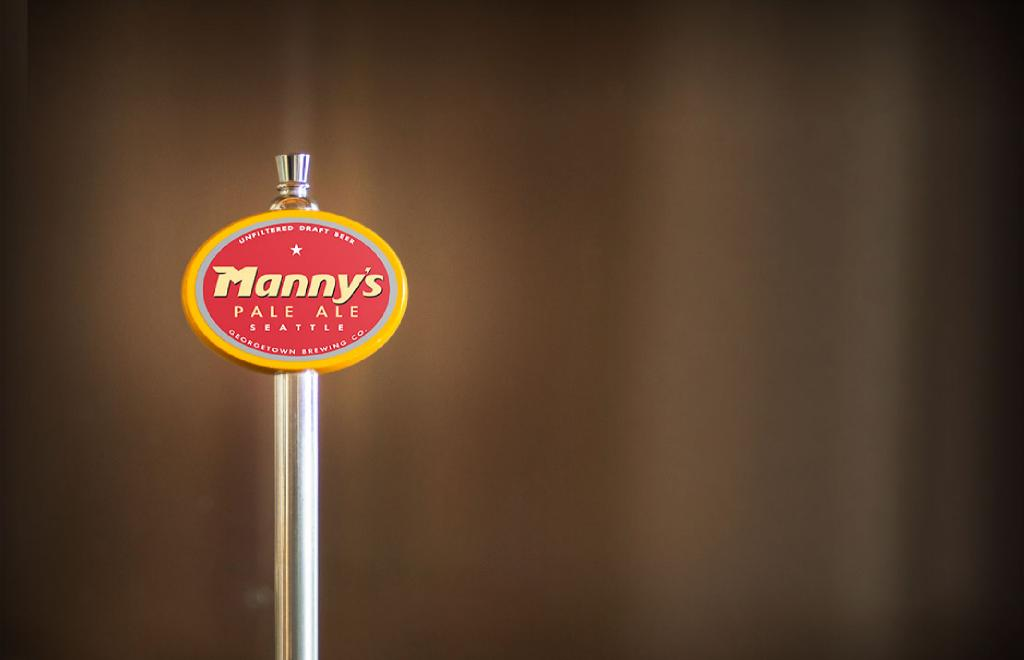 Manny's Pale Ale Tap handle