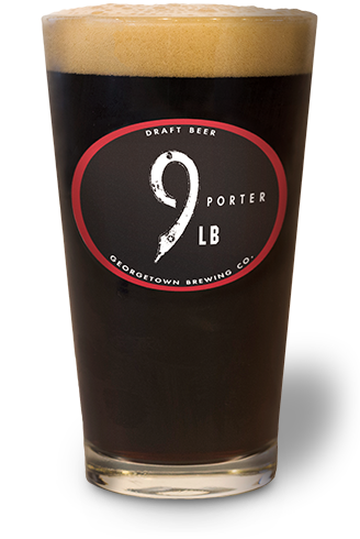 glass of the 9lb porter