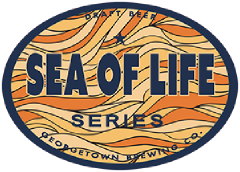Sea of Life Golden Ale Series tap label