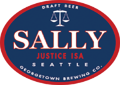 Sally Justic Session IPA tap label
